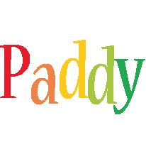 Paddy birthday logo