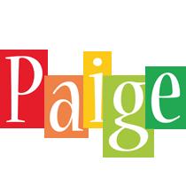 Paige colors logo