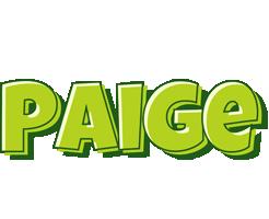 Paige summer logo