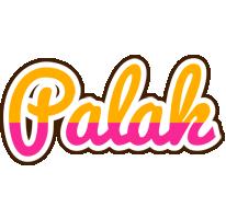 Palak smoothie logo
