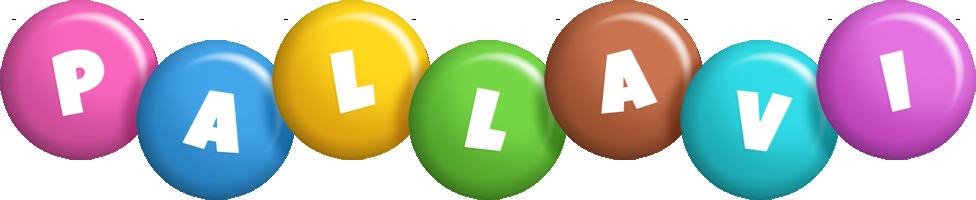 Pallavi candy logo