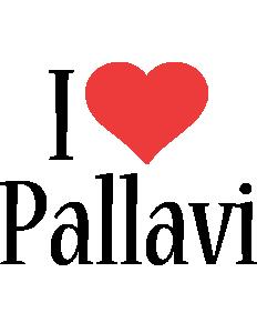 Pallavi i-love logo