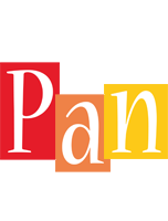 Pan colors logo