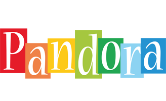 Pandora colors logo