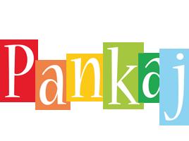 Pankaj colors logo