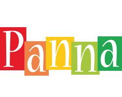 Panna colors logo