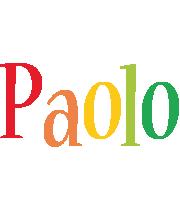 Paolo birthday logo