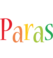Paras birthday logo