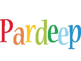 Pardeep birthday logo