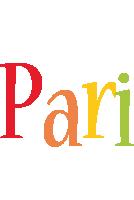 Pari birthday logo