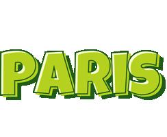 Paris summer logo