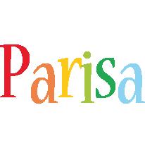 Parisa birthday logo