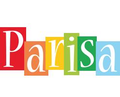 Parisa colors logo