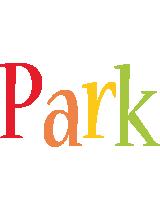 Park birthday logo