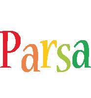 Parsa birthday logo