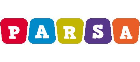 Parsa kiddo logo