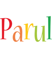 Parul birthday logo