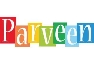 Parveen colors logo