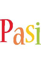 Pasi birthday logo