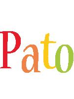 Pato birthday logo