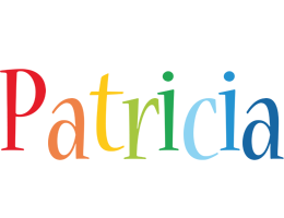 Patricia birthday logo