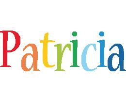 Patricia birthday logo
