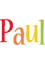 Paul birthday logo