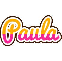 Paula smoothie logo