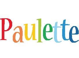 Paulette birthday logo