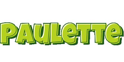 Paulette summer logo