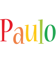 Paulo birthday logo