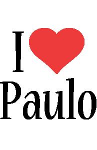 Paulo Logo | Name Logo Generator - Kiddo, I Love, Colors Style