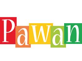 Pawan colors logo