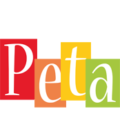 Peta colors logo