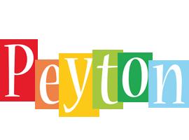 Peyton colors logo