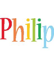 Philip birthday logo