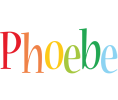 Phoebe birthday logo