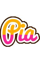 Pia smoothie logo