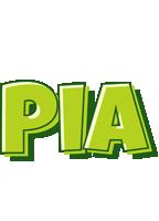 Pia summer logo
