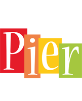 Pier colors logo