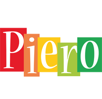 Piero colors logo
