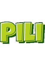 Pili summer logo