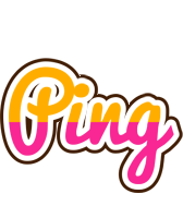Ping smoothie logo