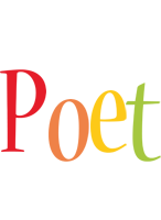 Poet birthday logo