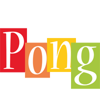 Pong colors logo