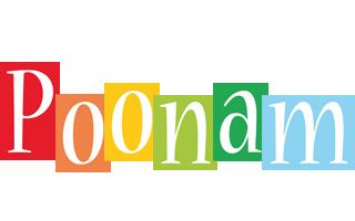 Poonam colors logo