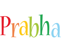 Prabha birthday logo