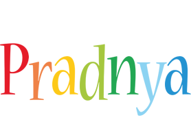 Pradnya birthday logo