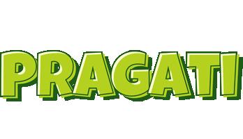 Pragati summer logo