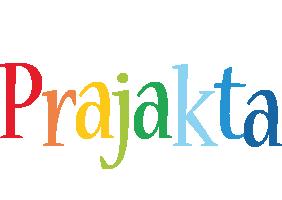 Prajakta birthday logo